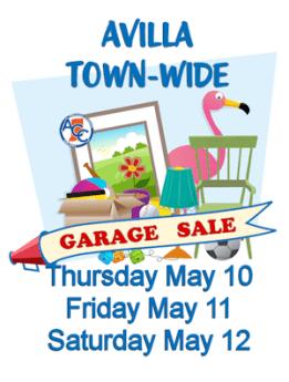 2018 Avilla Town-Wide Garage Sales