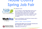 April 11:  Job Fair