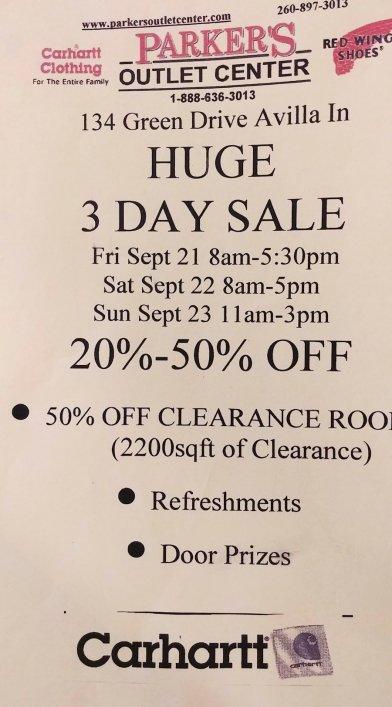 Parkers Outlet Sale