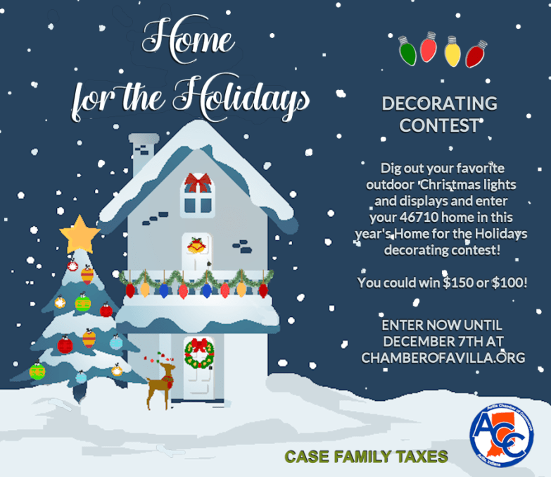 2020 Home for the Holidays Decorating Contest