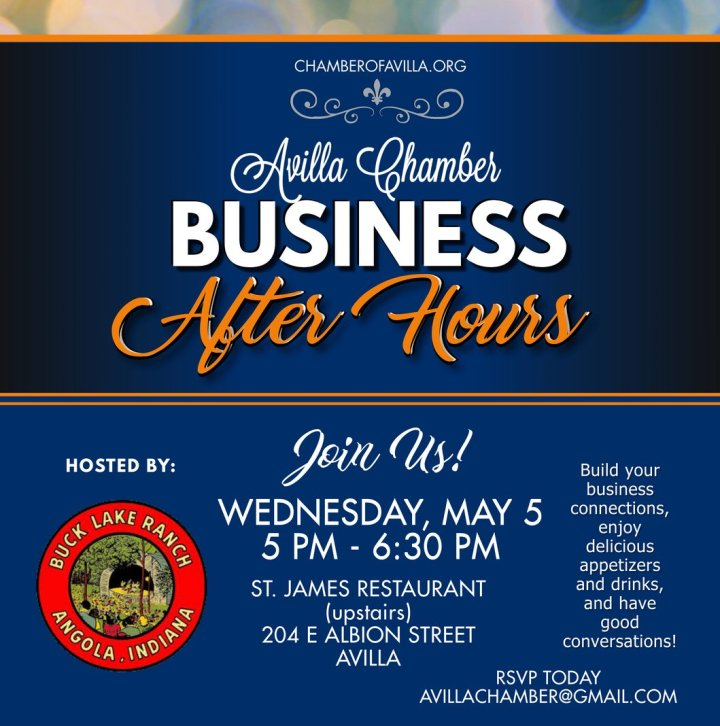 Avilla Chamber Business After Hours with Buck Lake Ranch