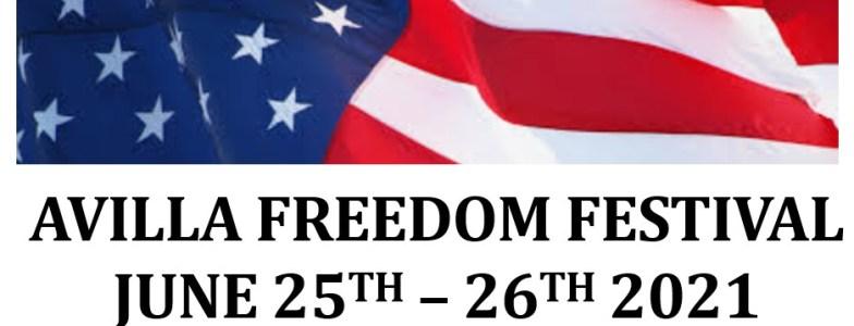 2021 Avilla Freedom Festival