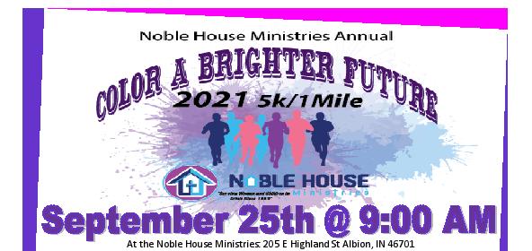 Color Run Flyer 2021 Banner