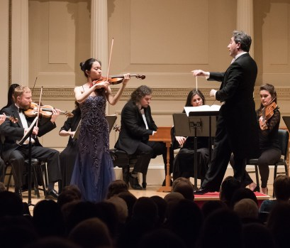 Chamber Orchestra of New York Salvatore Di Vittorio, Music Director and Conductor Sirena Huang, Violin - Vivaldi