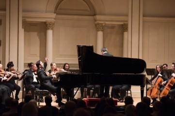 Chamber Orchestra of New York, Music Director Salvatore Di Vittorio, Spanish pianist Juan Carlos Fernández-Nieto in Mozart's Piano Concerto No. 9.
