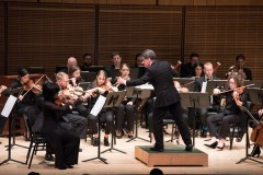 DIRK BROSSE, composer and conductor of 'Pictures at an Exhibition' [New York Premiere], Chamber Orchestra of New York, 10th Anniversary Season Opener: 'Postcards from Italy', Salvatore Di Vittorio - Director