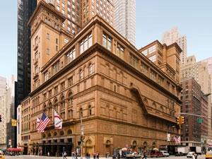 Carnegie Hall, New York, New York