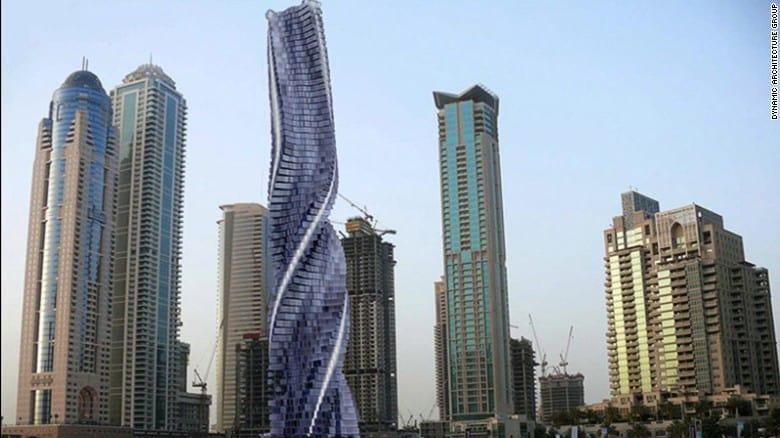 Rotating Skyscraper Coming in Dubai