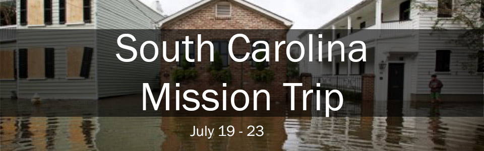 South Carolina Mission Trip