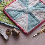 Simple Diy Quilted Potholder From Scraps Of Fabric