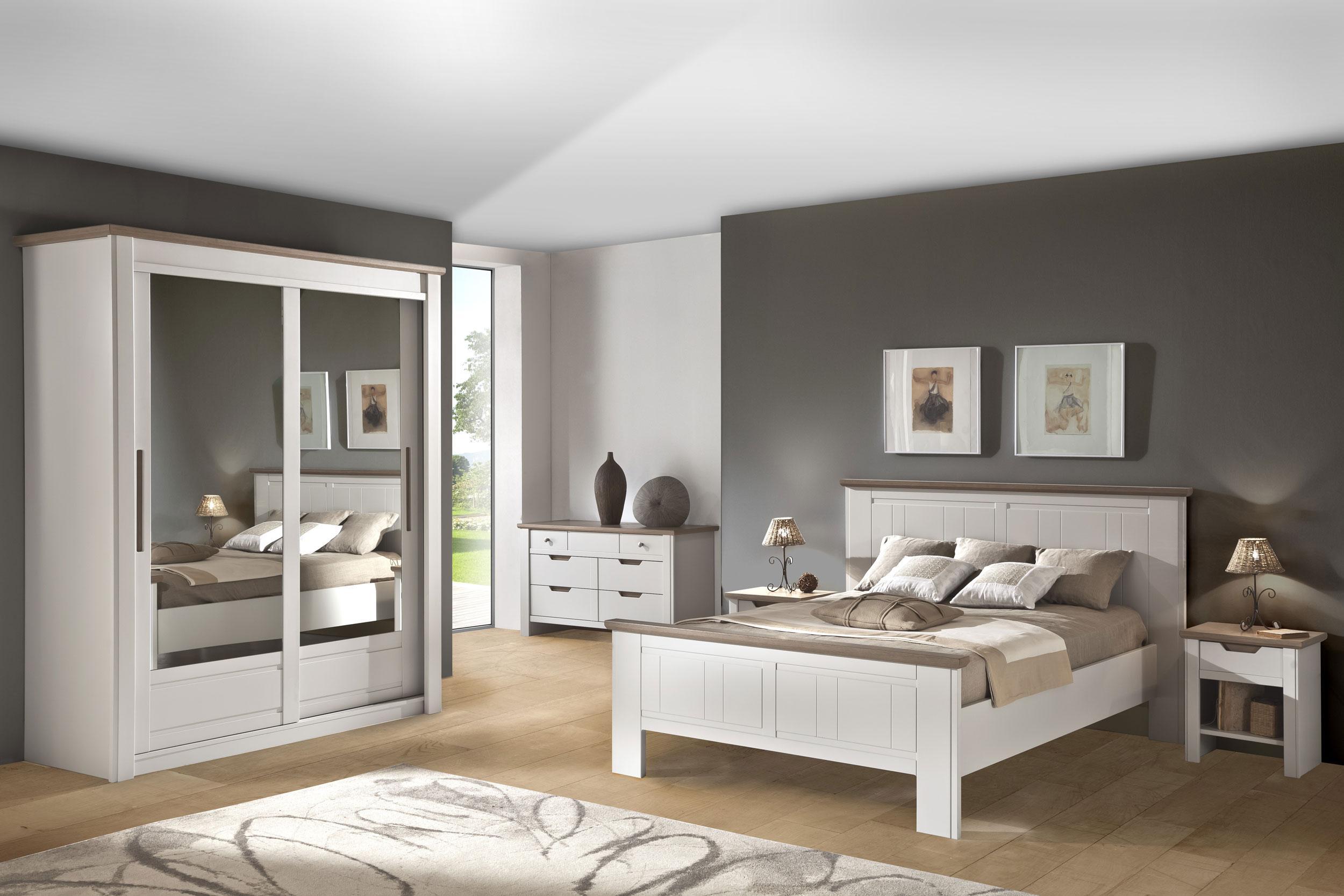 Idee Deco Chambre Meuble Blanc   Deco Chambre