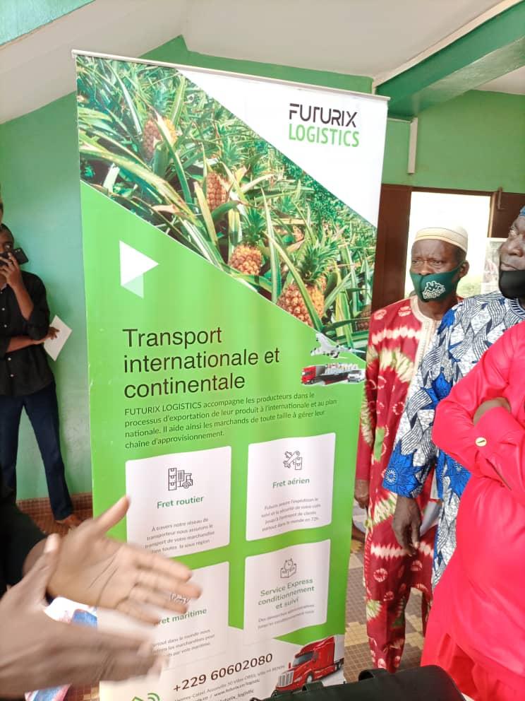 Read more about the article FUTURIX LOGISTICS la start-up exportatrice de produit agricole.