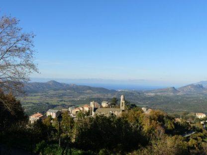le golfe de St Florent depuis Vallecalle