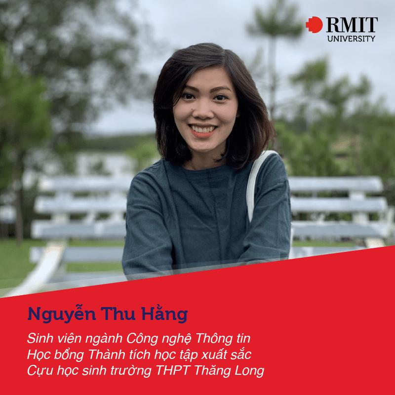 Nguyễn Thu Hằng - sv Công nghệ thông tin RMIT