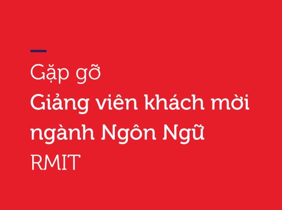 gap go giang vien khach moi nganh ngon ngu tai rmit
