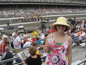 At the Indy 500, Memorial Day weekend 2011