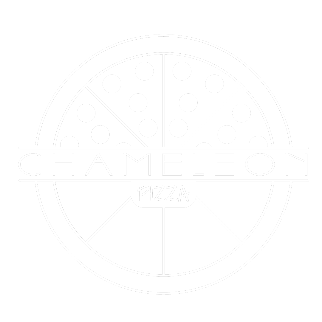 Chameleon Pizza Logo Northside Cincinnati Delivery Restaurant Open Late