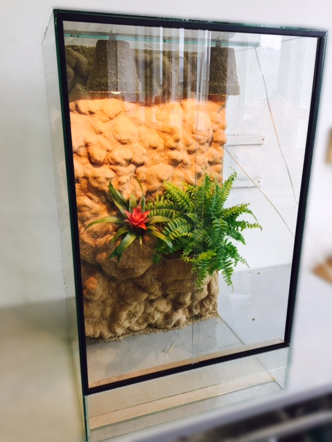 Terárium 60x50x100 cm pro chameleona