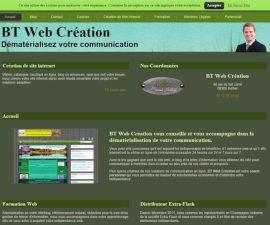 BT Web Création: création de sites internet en Champagne Ardennes