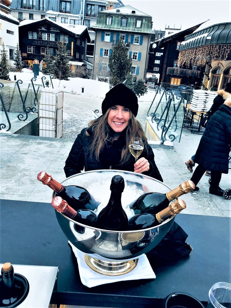 Eileen Callahan Luxury Travel Expert of Champagne Travels in Zermatt Switzerland