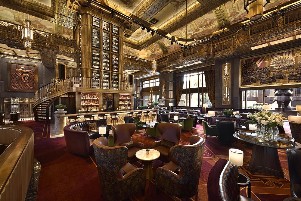 Eileen Callahan of Champagne Travels Atlas Bar Singapore