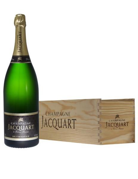 Champagne Jacquart Mosaïque brut jeroboam (in kist)