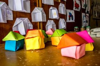 Petites maisons en papier