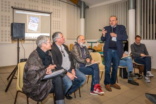 M. Gaillot, Maire d'Echillais et vice-président de la commission développement culturel à la CARO