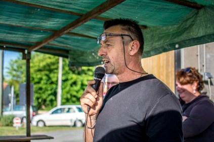 DJ Benoît au micro