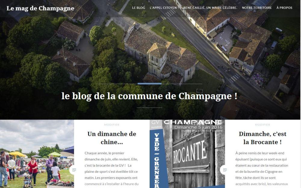 Ecran site web