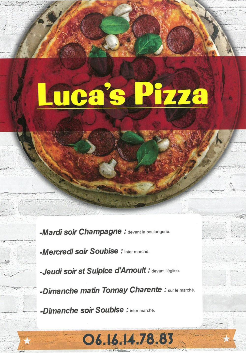 Pizza Recto
