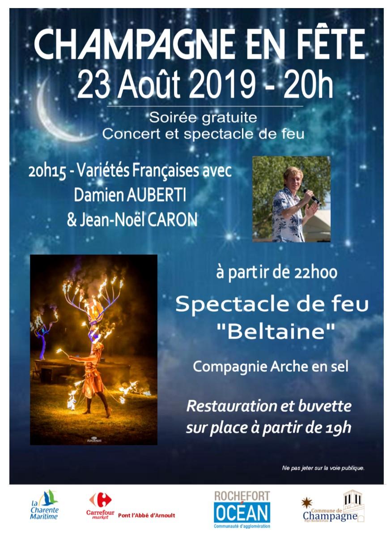 Affiche Champagne en fête 2019-A5