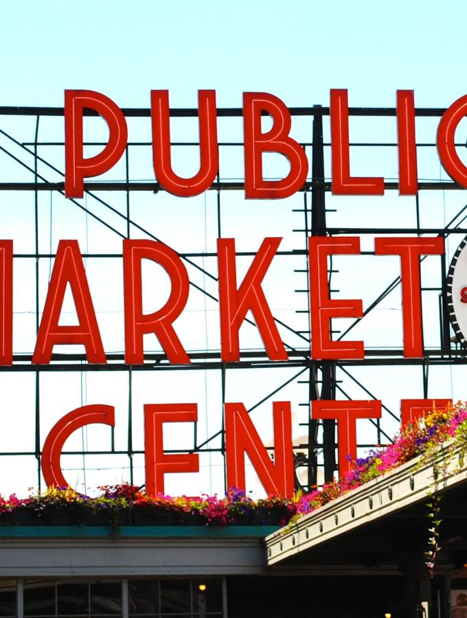 Pike Public Market, Seattle WA
