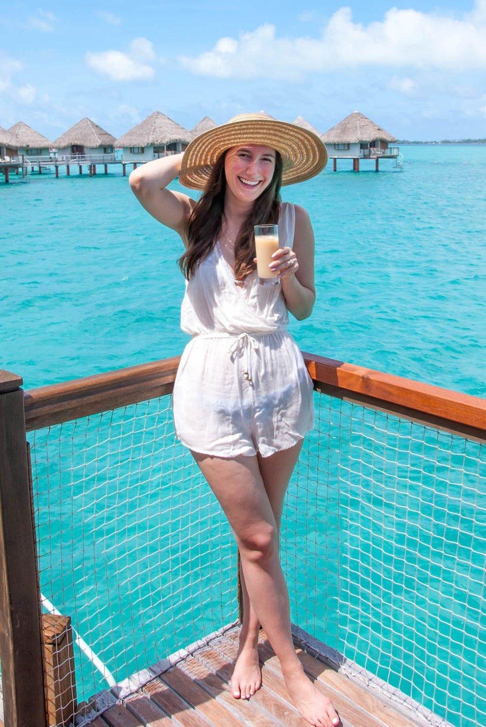 Packing For Bora Bora Champagne Amp Paper Planes
