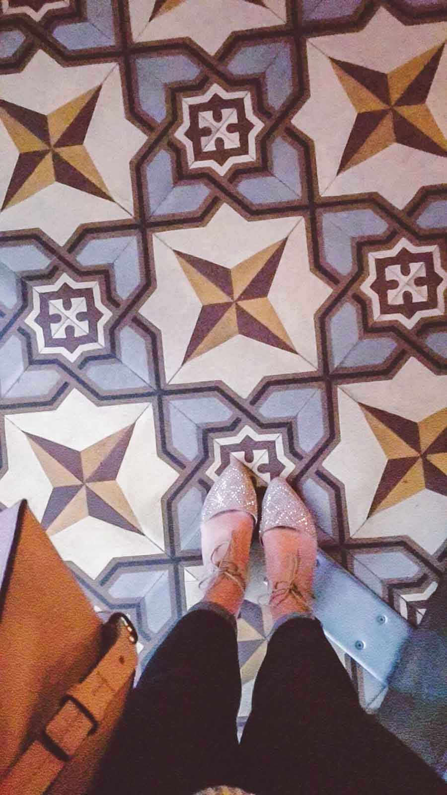 Blue Tile Floors and Sparkly Shoes at Bestia in Downtown LA