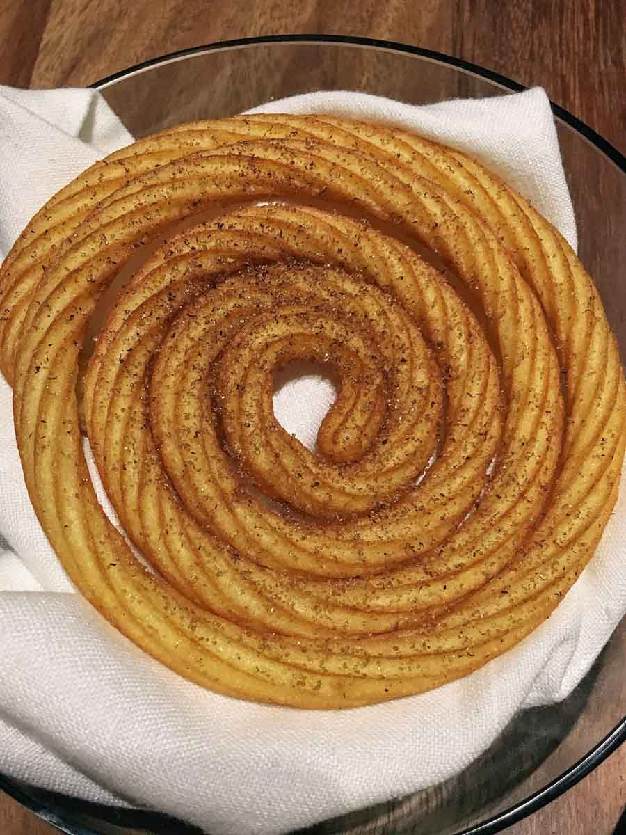 Spiral Churro at Pujol in Mexico City