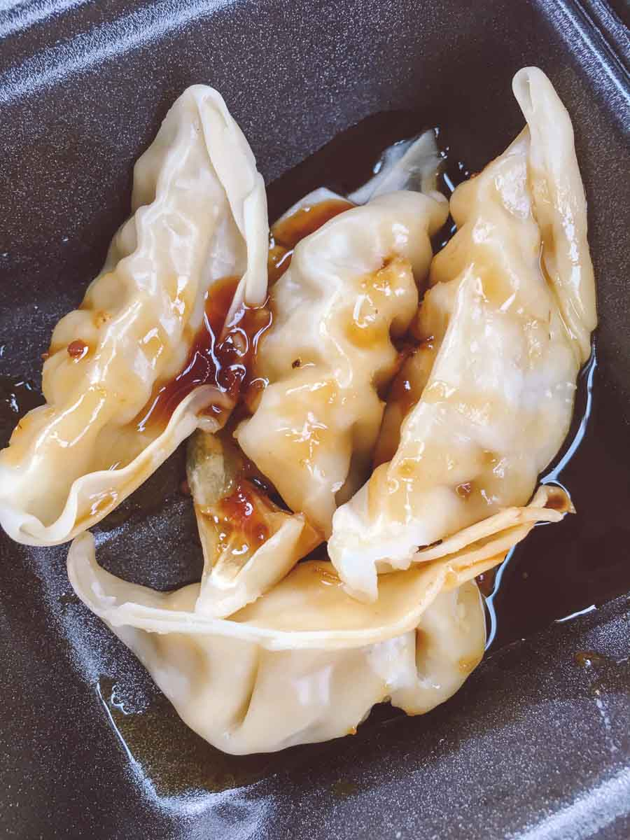 What a dietitian eats in a week - pot stickers