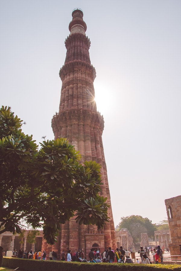 Qutub Minar in Delhi, India