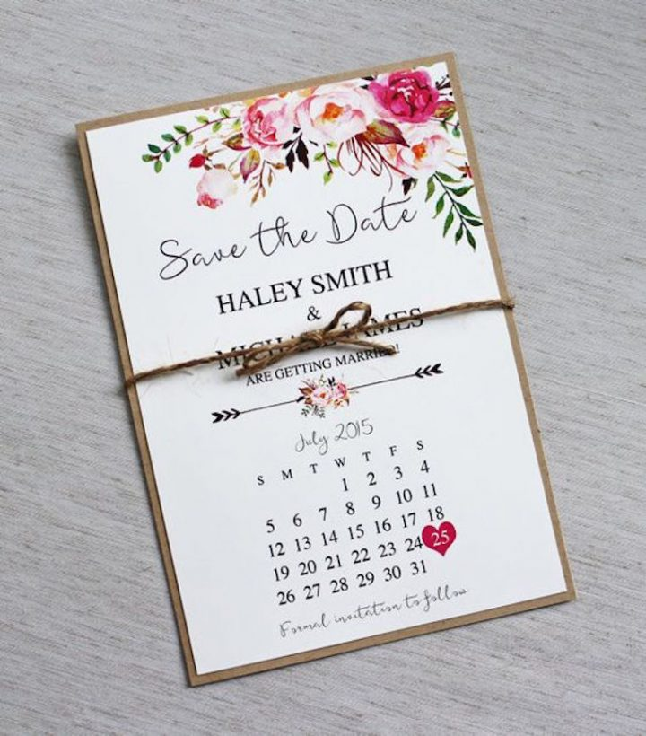 save the date cards for weddings