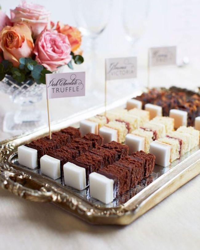 wedding cake flavours