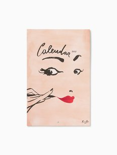 Kate Spade Read My Lips 2017 Wall Calendar