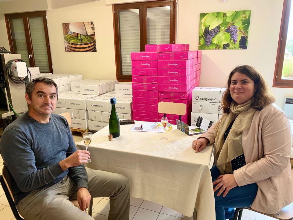 Bertrand och Adeline Doyard
