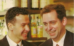 Rob Sitch and Santo Cilauro in The Australian Good Weekend magazine, August  28 1993