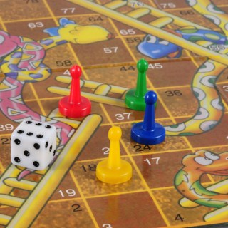 Parenting is like a game of Snakes and Ladders