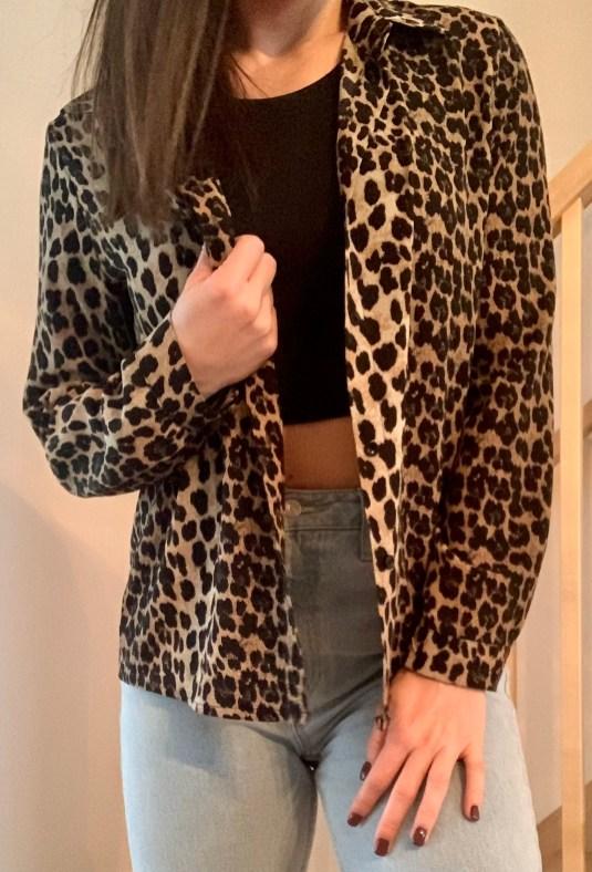 Cette chemise léopard Womance