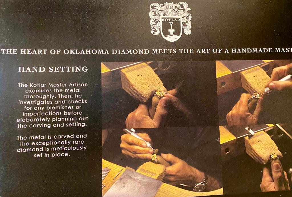 The Heart of Oklahoma Diamond meets The Art of A Handmade Masterpiece, Victoria's Jewelry Box