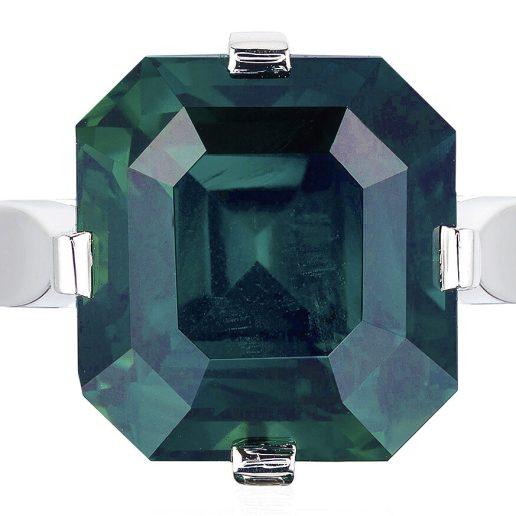 BAYCO - GREEN SAPPHIRE RING