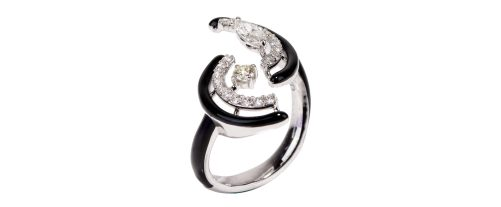 KAMYEN JEWELLERY - CRESCENT RING (R-P93)