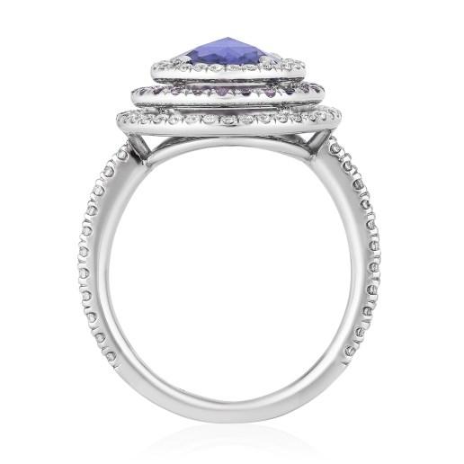 BAYCO - PURPLE SAPPHIRE & DIAMOND RING