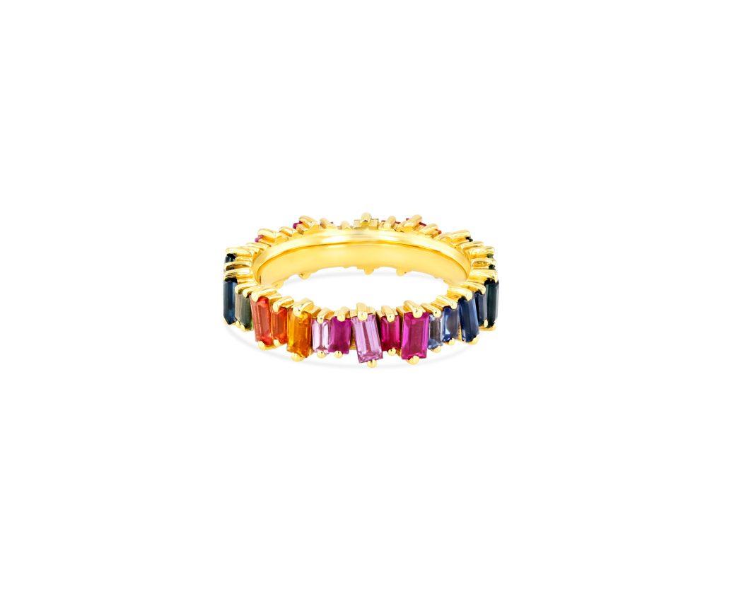OPTION 1 SUZANNE KALAN - RAINBOW CLASSIC ETERNITY BAND